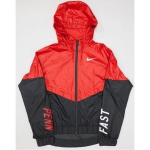 Nike NWOT Rare Limited Edition Red Windbreaker